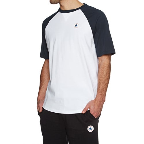 Converse Chuck Patch Raglan Short Sleeve T-Shirt - Free Delivery ... 450616ee78