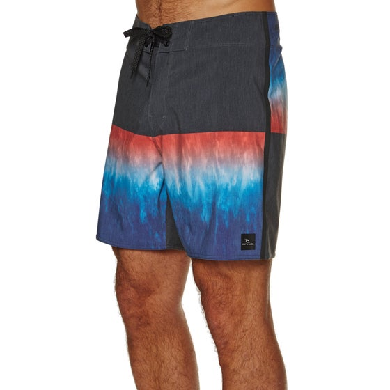 66a616103488f Bermudas Rip Curl Mirage Wilko Blocker 18 - Black blue