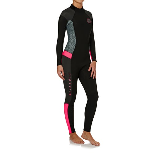 Rip Curl Womens Dawn Patrol 3 2mm Back Zip Womens Wetsuit ... 3771830e3