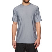 O Neill Hybrid Short Sleeve Surf T-Shirt - Cool Grey