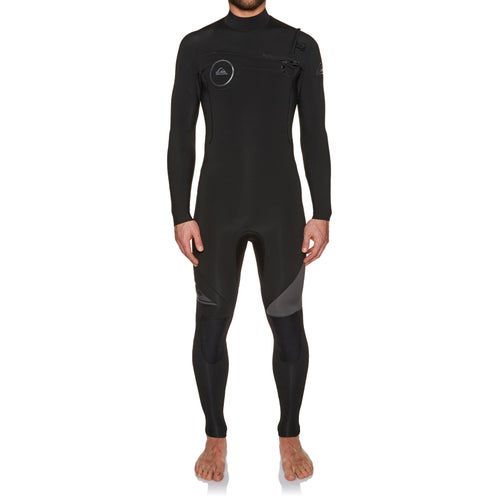 8446665112 Quiksilver Syncro 4 3mm 2018 Chest Zip Wetsuit available from Surfdome