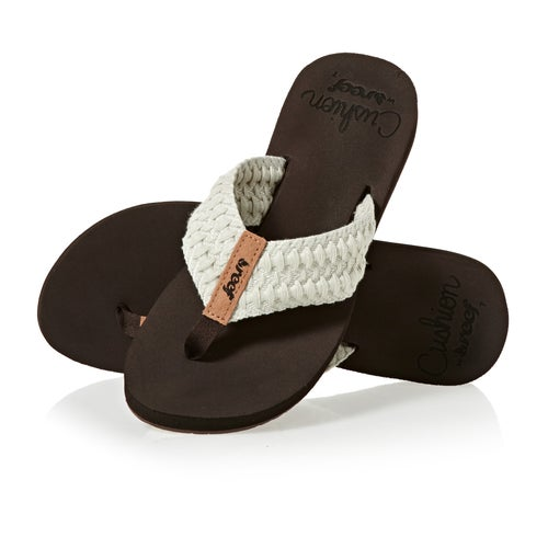 43ef599e0a94 Reef Cushion Threads Ladies Sandals from Magicseaweed