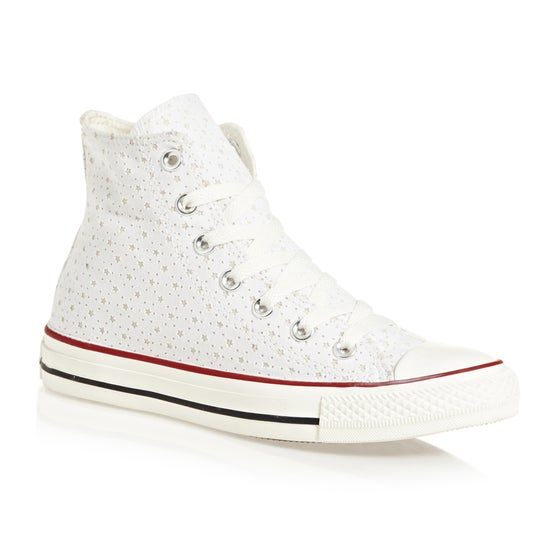d98ccdca0df Calzado Mujer Converse Chuck Taylor All Star Hi - White garnet athletic Navy