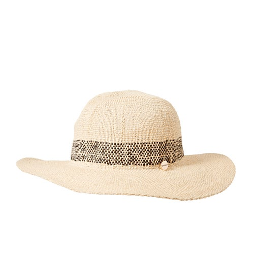Seafolly Shady Lady Stripe Fedora Womens Hat available from Surfdome 7e975c9d3055