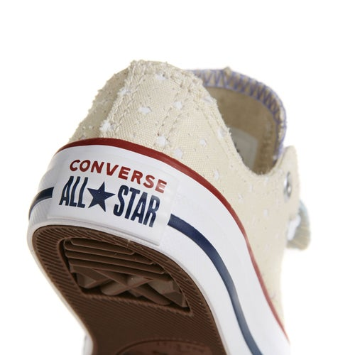 c95f7c770885 Converse Chuck Taylor All Star Double Tongue Ox Junior Girls Shoes ...