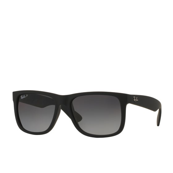 a3cbceffe23 Ray-Ban. Ray-Ban Justin Polarised Sunglasses - Black ~ Grey Gradient