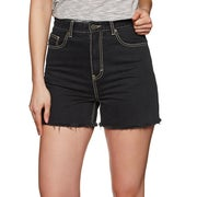 The Hidden Way Erin Womens Shorts - Washed Black