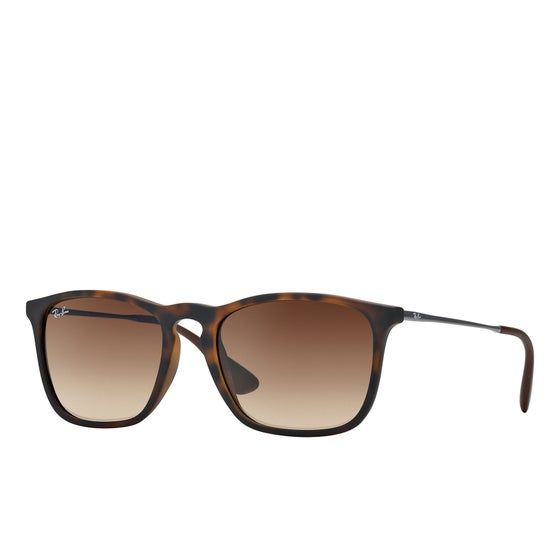 c6f6fd633d Ray-Ban. Ray-Ban Chris Sunglasses - Rubber Havana ~ Brown Gradient