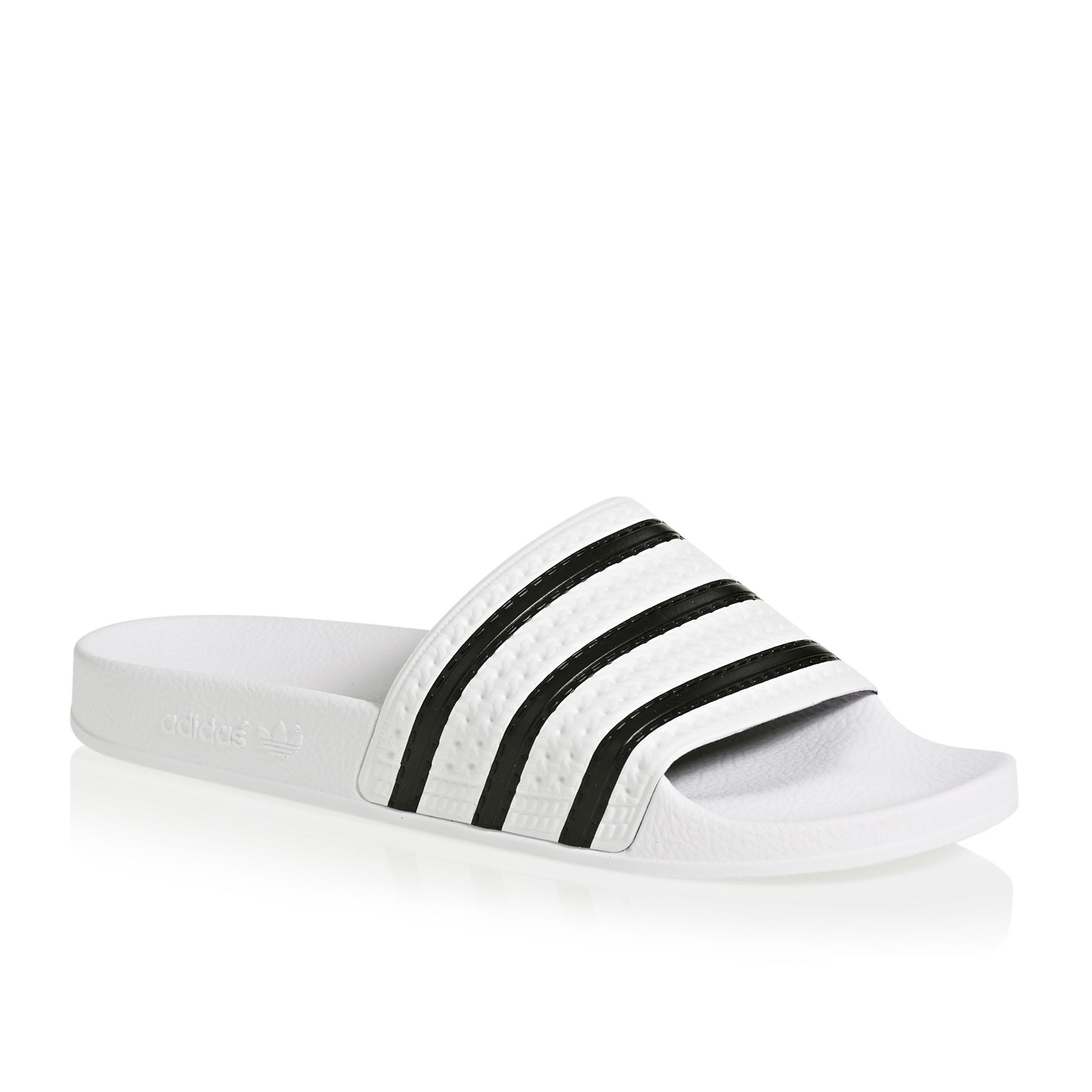 size 40 95a85 8d23e Adidas Originals Adilette Sandals White All Sizes