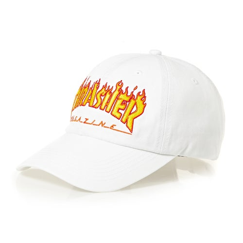 Thrasher Flame Old Timer Cap available from Surfdome 25a17ce0038