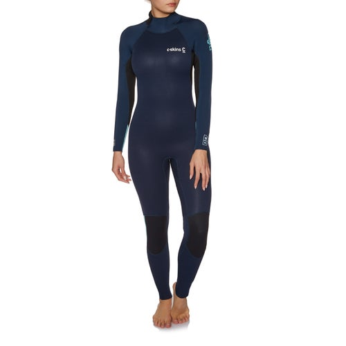 C-Skins Womens Surflite 4 3mm Back Zip Womens Wetsuit available from ... 36eb269bf