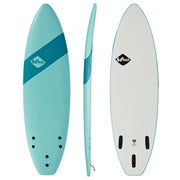 Softech Handshaped Original FCS II Shortboard Surfboard - Soft Sky