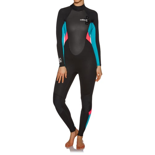 C-Skins Womens Element 3 2mm Back Zip Womens Wetsuit available from ... 68ac08564