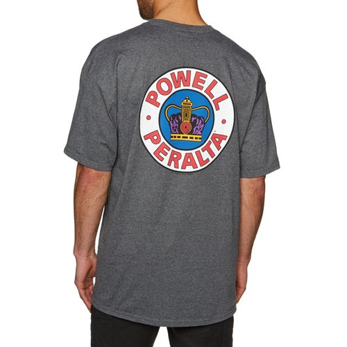 a8865aa0075d Powell Supreme Short Sleeve T-Shirt - Free Delivery options on All ...