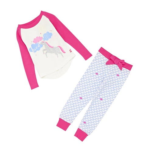 5da1a5d4a9 Joules Sleepwell Set Girls Pyjamas available from Surfdome