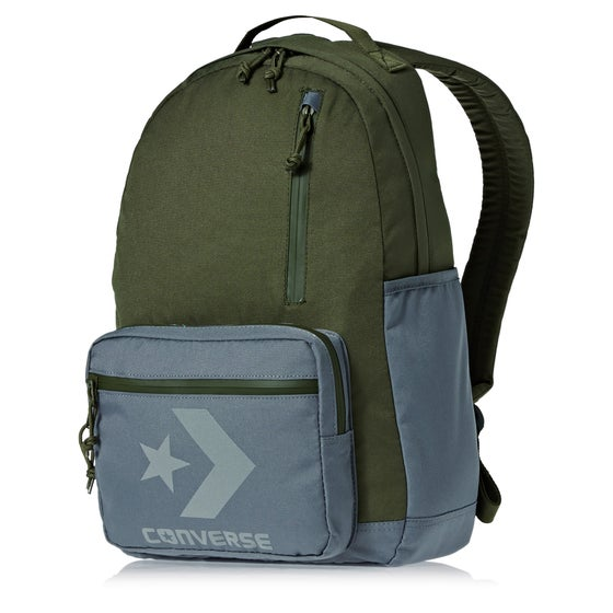 ecbb254f17 Converse Block Essential Backpack - Medium Olive