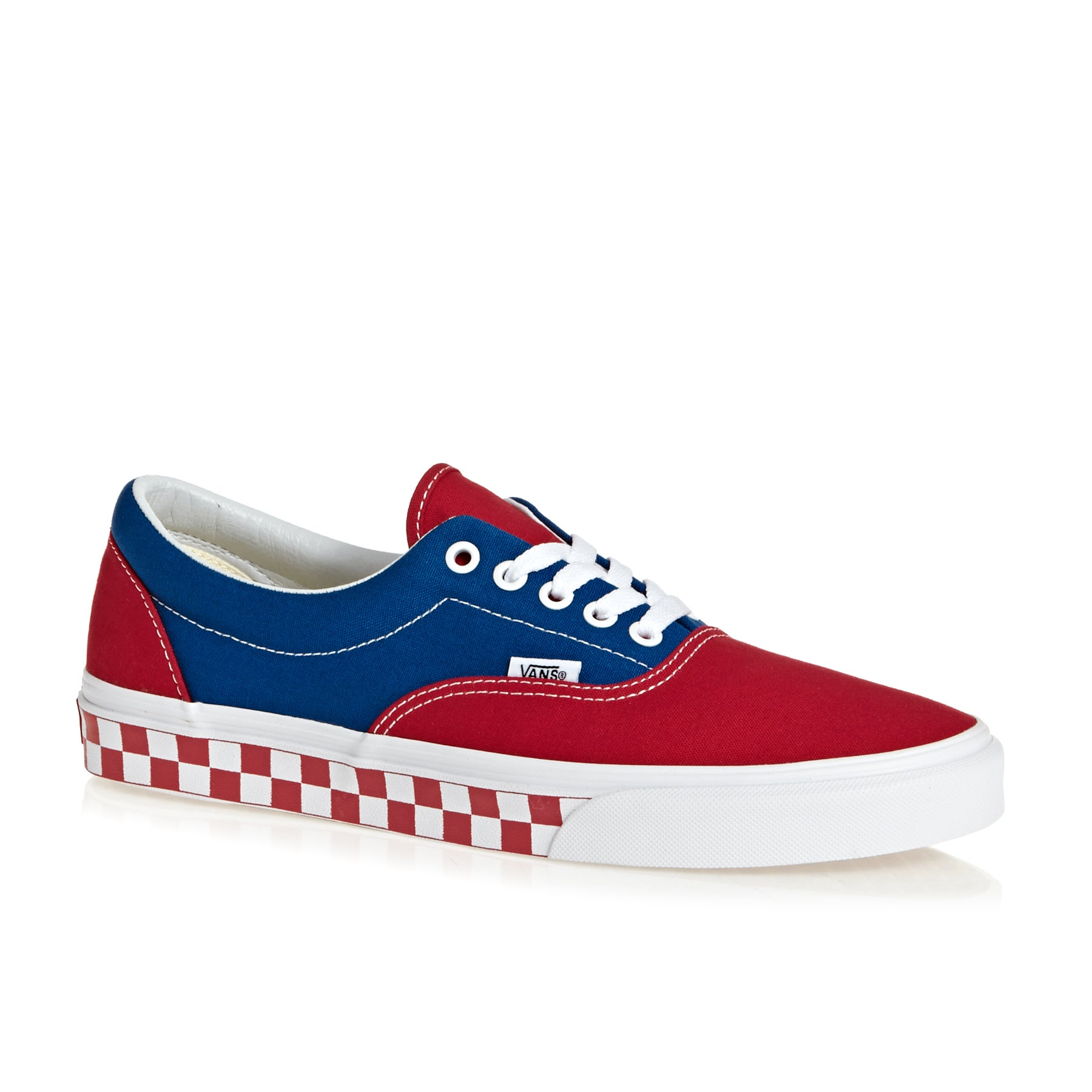 ff5703d9b0 Vans Era Unisex Footwear Shoe - Bmx Checkerboard True Blue Red All ...