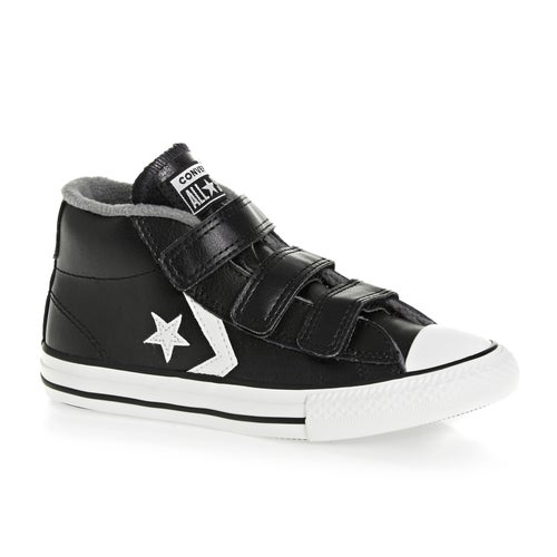 Converse Star Player 3v Mid Kids Shoes available from Surfdome 8d2482d83