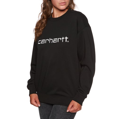 6dc04c88a2495 sale Carhartt Unbrushed Ladies Sweater - Black White