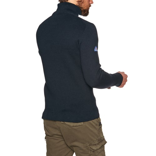 Superdry Metropolitan Northside Henley Fleece