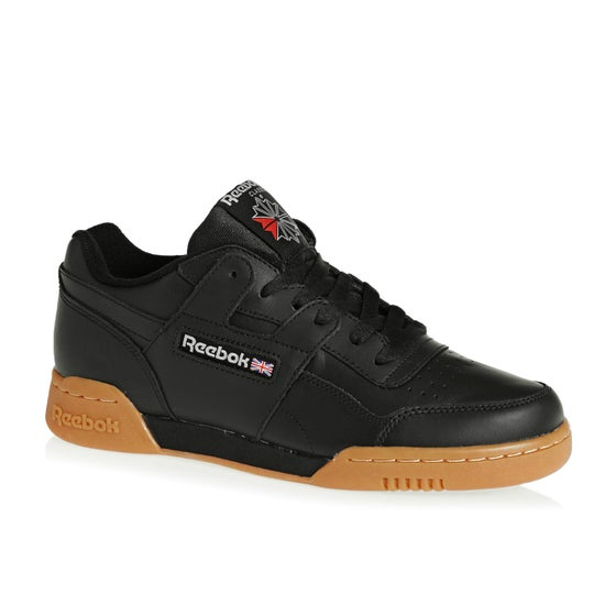b19b55167761f Reebok Classics Workout Plus Shoes - Black carbon red roy