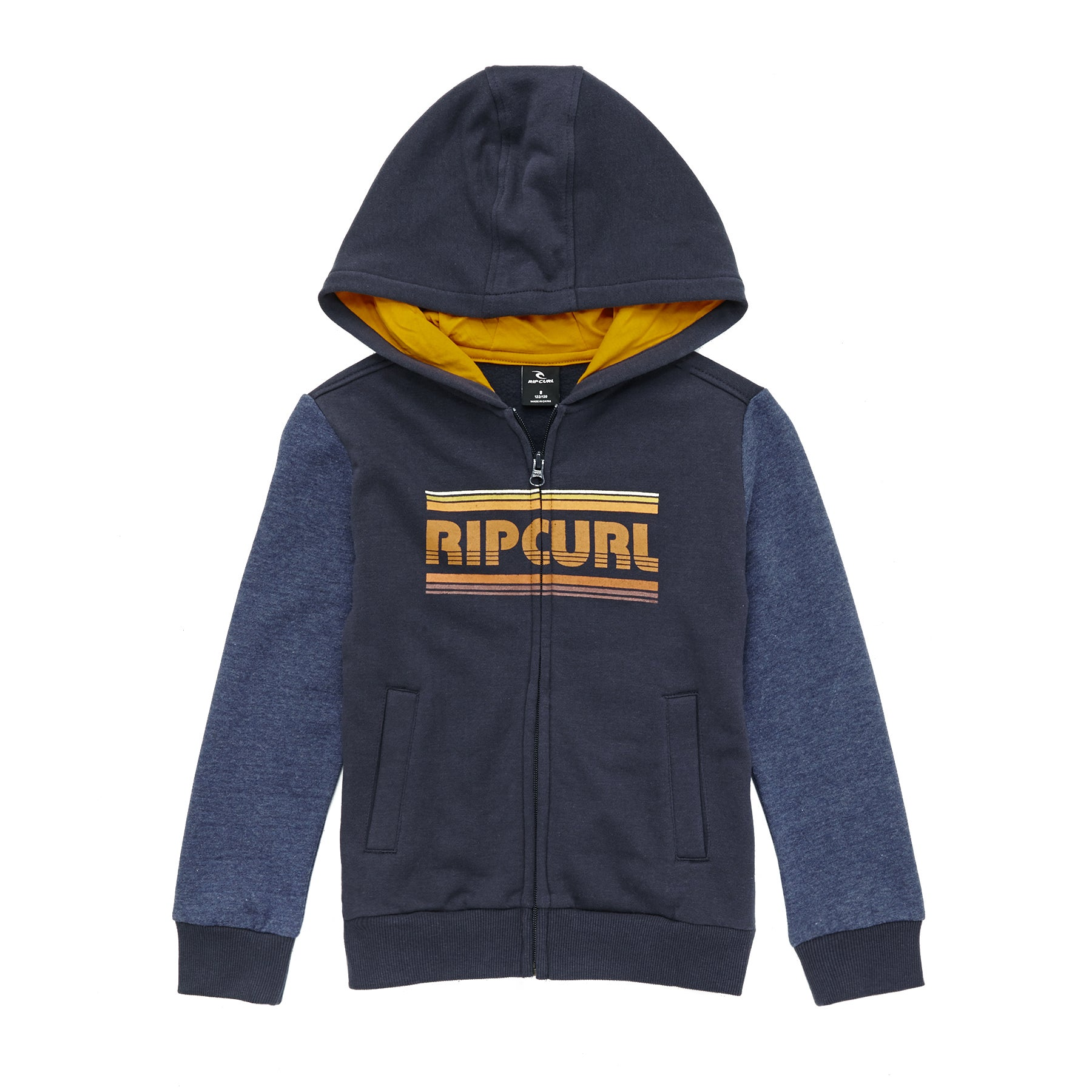 271f505ce Details about Rip Curl Big Mama Hz Boys Jacket Fleece - Mood Indigo All  Sizes