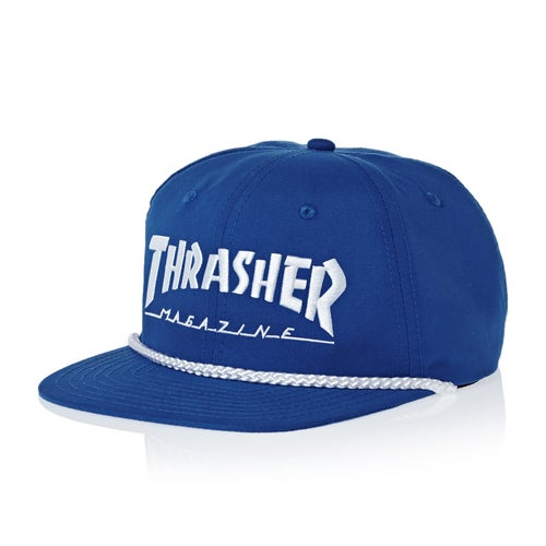 Thrasher Rope Snapback Cap available from Surfdome f905b2552d1c