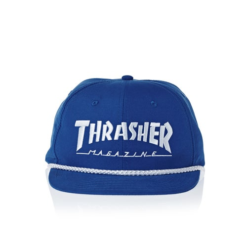 Thrasher Rope Snapback Cap available from Surfdome 53ea08ab5ce