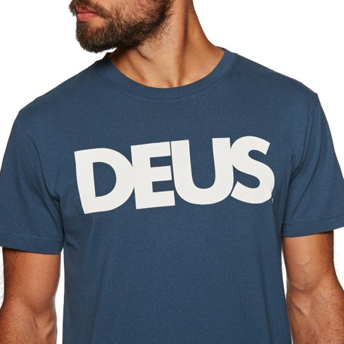 Camiseta de manga corta Deus Ex Machina All Caps