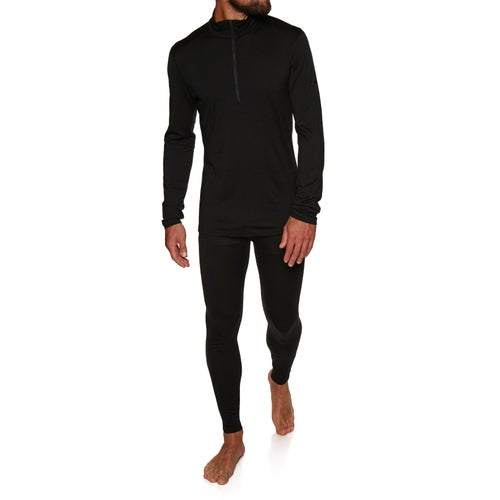 Icebreaker Mens 200 Oasis Ls Half Zip Base Layer Top