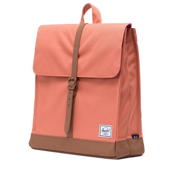 3017f35ff00 Herschel Supply Co. Herschel City Mid-volume Backpack - Apricot Brandy Saddle  Brown