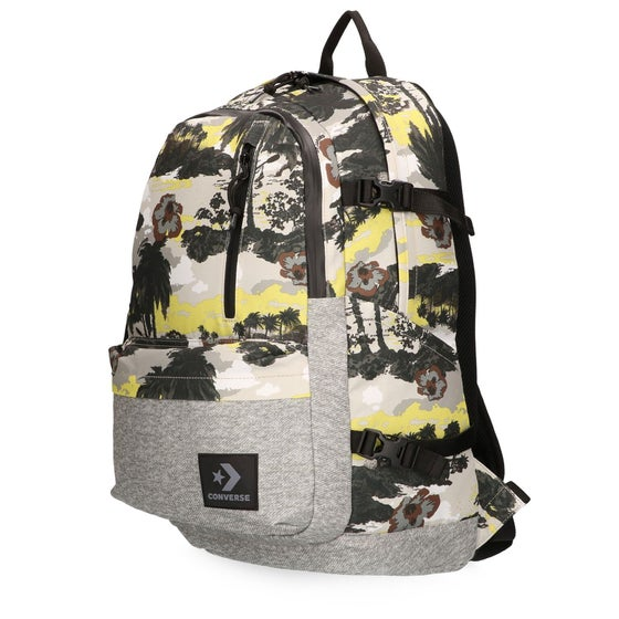 2fe5a0e44d52 Converse Tropical Grey Straight Edge Backpack - Cool Grey