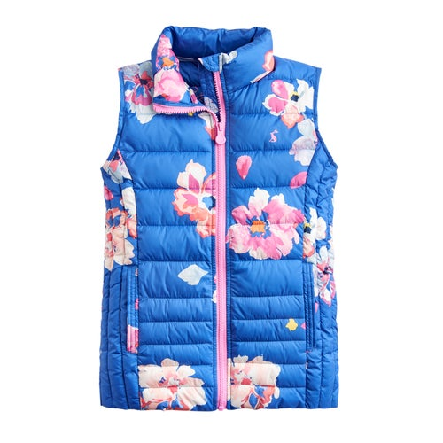 d2fd8233d2 Joules Croft Printed Girls Body Warmer available from Surfdome