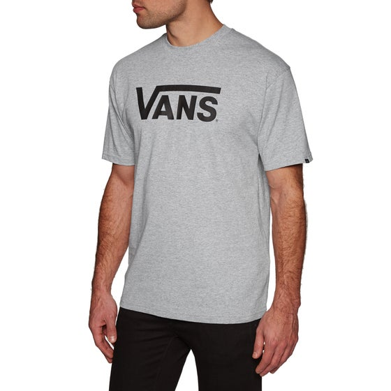293df02787 Vans Classic Short Sleeve T-Shirt - Athletic Heather Black