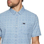 11273b6e527 RVCA Nakama Dot Short Sleeve Shirt from Magicseaweed