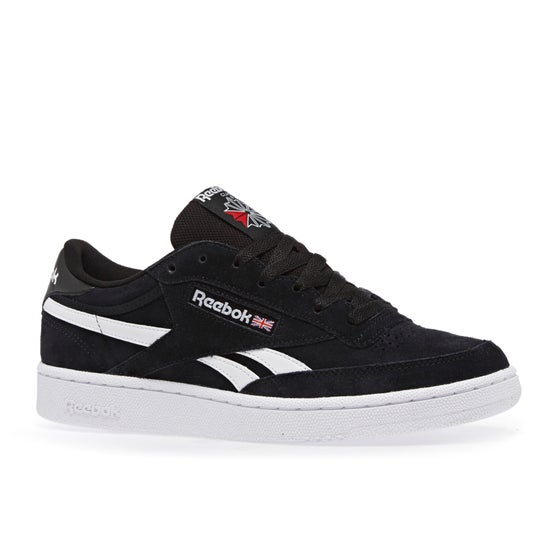 7b55e055ad41f3 Reebok Revenge Plus Mu Shoes - Black White