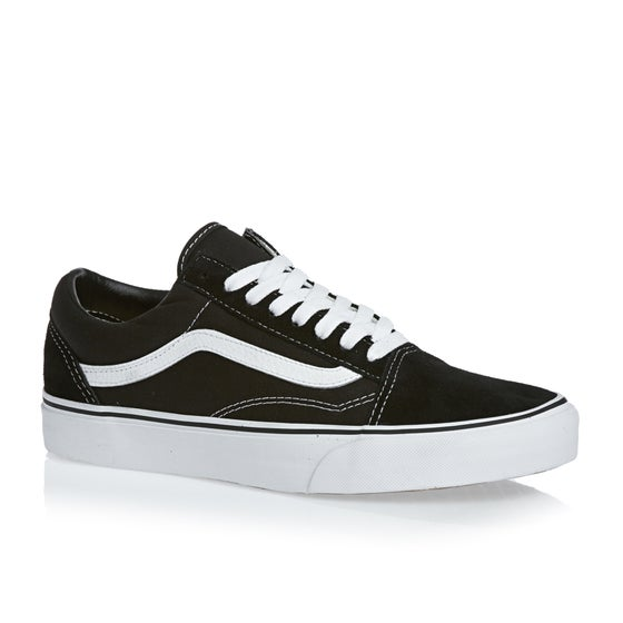 ff5dcf710e6 Sapatos Vans Old Skool - Black White