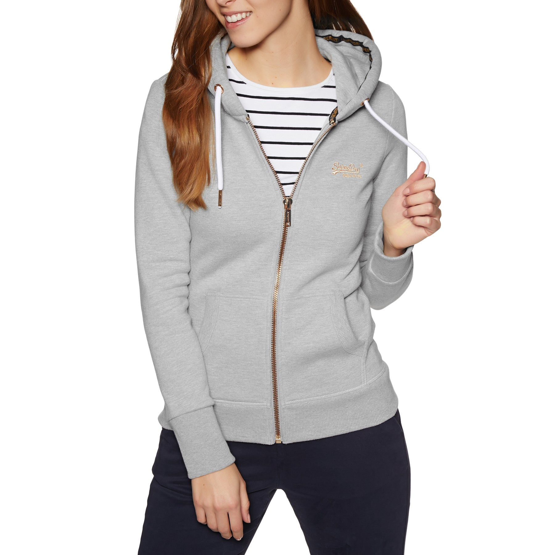 Superdry Orange Label Elite Womens Mikina s kapucí na zip available ... 84ae15f1fea