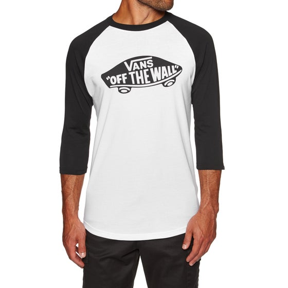 aebb8074e6 Vans. Vans OTW Raglan Long Sleeve T-Shirt - White Black