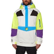 O Neill Frozen Wave Anorak Snow Jacket - Powder White