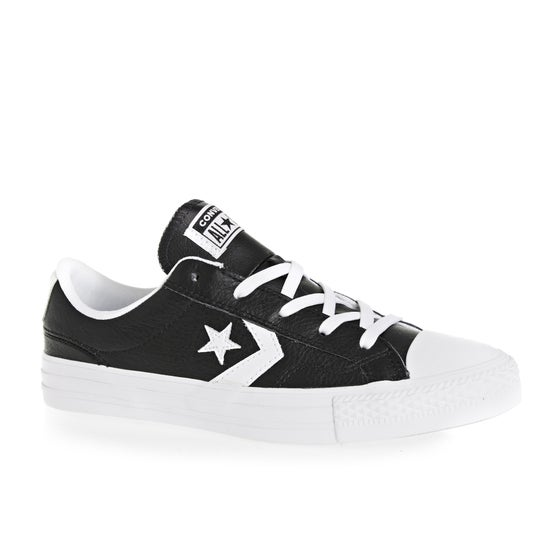 c4b578306e41 Converse. Converse Oxford Star Player Ox Shoes - Black White White