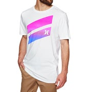 Camiseta de manga corta Hurley Icon Slash Gradient available from ... bceae94b995