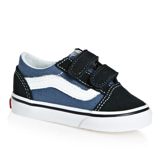 0d487386a0 Vans. Vans Old Skool V Kids Toddler Shoes - Navy