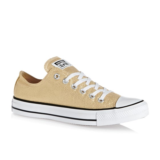 d9c3a6d3aa38 Converse. Converse Chuck Taylor All Star Ox Womens Shoes - Light Twine White  Black
