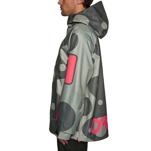 08555eef09 Oakley X Jeff Staple 10k 3l Shell Pullover Snow Jacket available ...