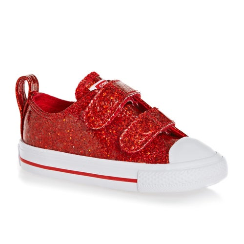 Converse Chuck Taylor All Star 2v Ox Glitter Baby Shoes available ... a827ee97d
