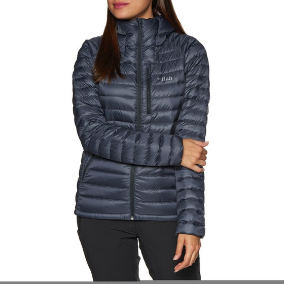 3b25187c6bb Rab Microlight Alpine Womens Down Jacket - Steel Passata