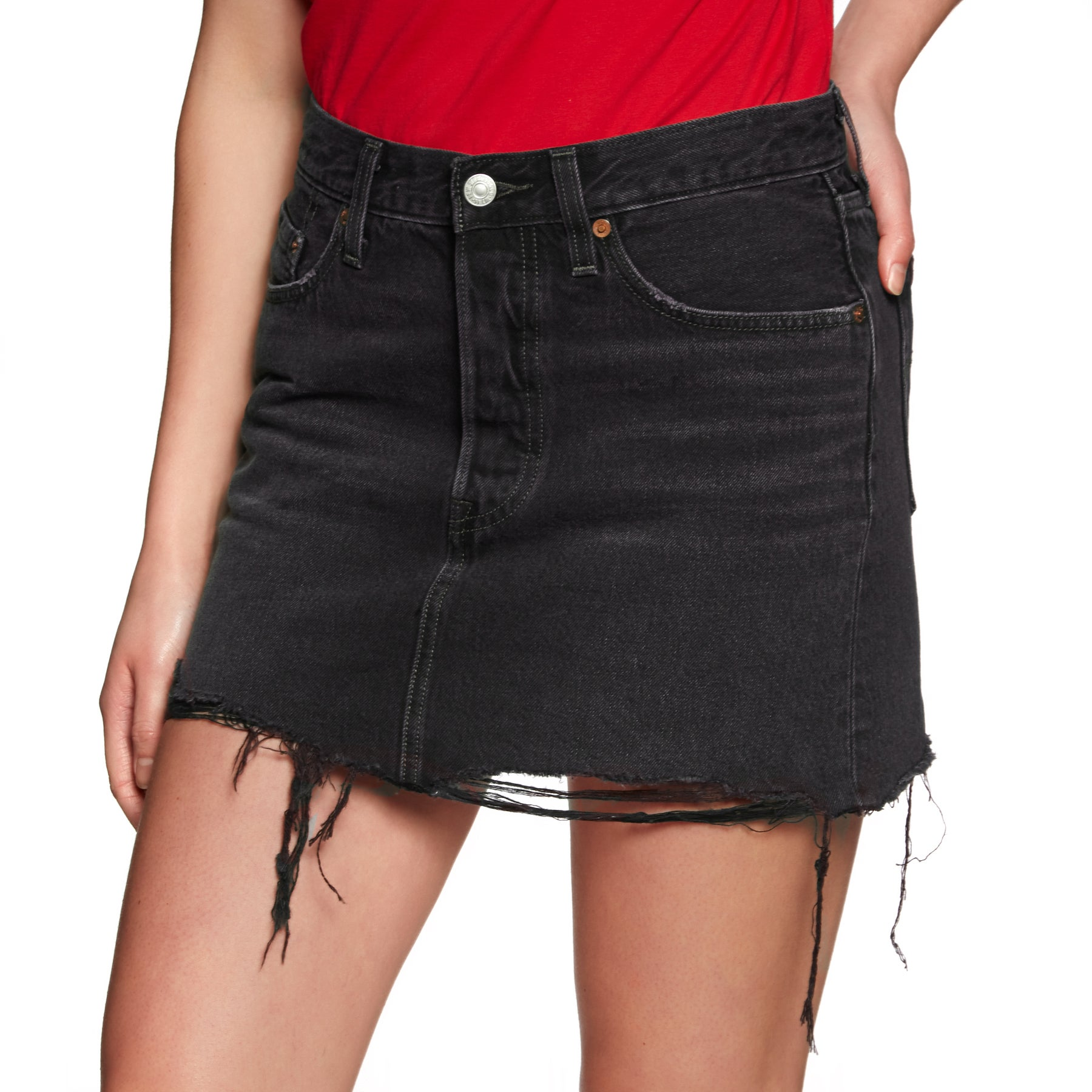 08f7f2db3 Levis Deconstructed Womens Skirt/dress Skirt - Ill Fated All Sizes ...