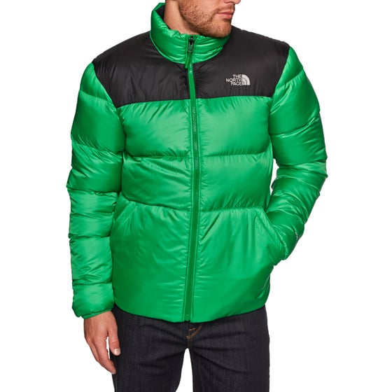 e08a7a18219 North Face Nuptse III Down Jacket - Primary Green TNF Black