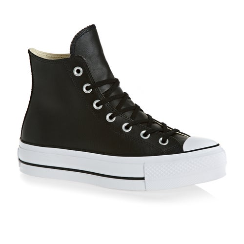 84baf3a0a1e Converse Chuck Taylor All Star Lift Clean Hi Ladies Shoes from ...